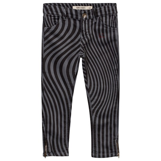 Bobo Choses Hypnotized Slim Fit Trousers Grey Steel Grey