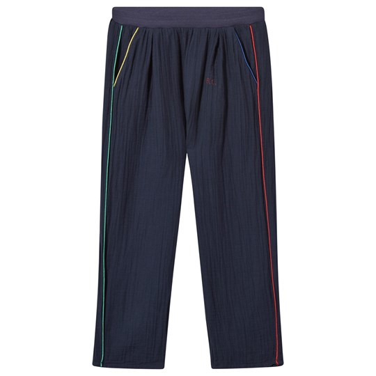 Bobo Choses Baggy Trousers Navy Black Iris