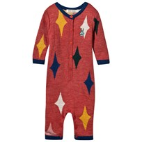 Bobo Choses Magic Powders Knitted One-Piece Orange Rust