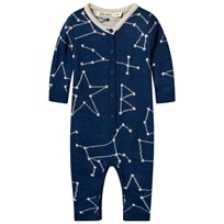 Bobo Choses Constellation Knitted One-Piece Black Iris
