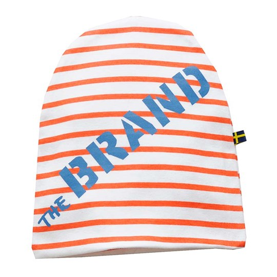 The BRAND Hat Red Striped Red