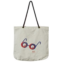 Bobo Choses Tote Bag Impossible Glasses Silvergrey