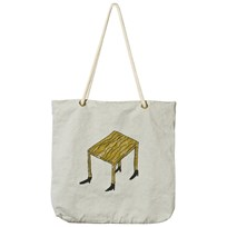 Bobo Choses Tote Bag Wandering Desk Silvergrey