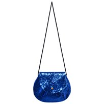 Bobo Choses Blue Glitter Princess Bag Black Iris