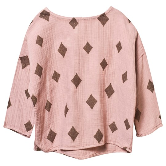Bobo Choses Diamond Sky Blouse Beaver Fur