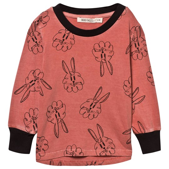 Bobo Choses Bunnies T-Shirt Orange Rust