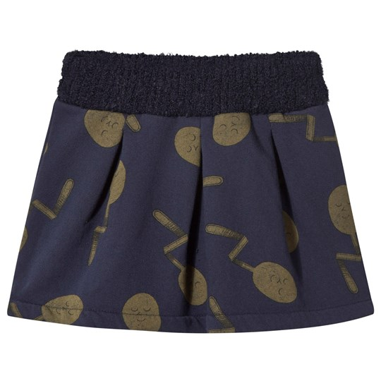 Bobo Choses Spoons Skirt Purple Plumeria