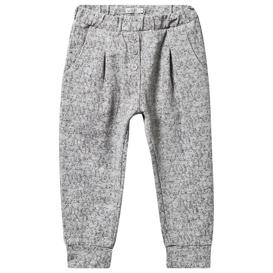 Wheat Trousers Gertrud Melange Grey melangegrey