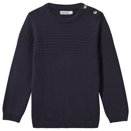 Wheat Knit Pullover Carlos Navy Navy