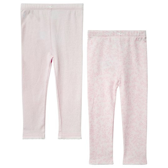 Ralph Lauren Cotton Leggings 2-Piece Set Garden Pink