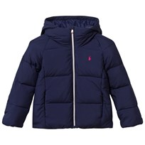 Ralph Lauren Hooded Down Jacket Newport Navy Newport Navy