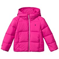 Ralph Lauren Hooded Down Jacket Currant Currant