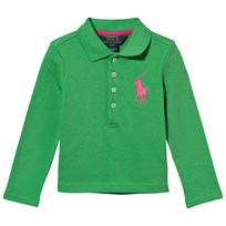 Ralph Lauren Big Polo Shirt Lime Green Lime Green