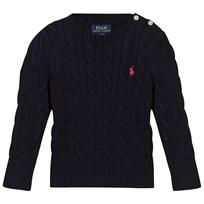 Ralph Lauren Classic Cable-Knit Sweater Hunter Navy Hunter Navy