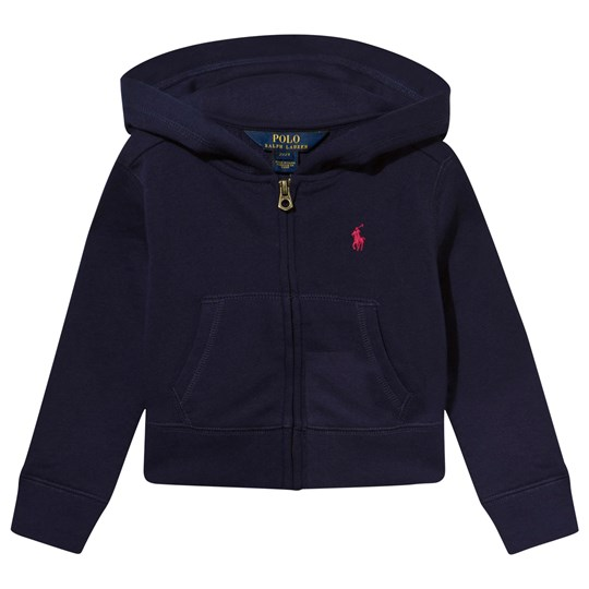 Ralph Lauren Cotton Blend Terry Hoodie Newport Navy Newport Navy