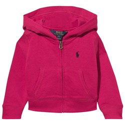 Ralph Lauren Cotton Blend Terry Hoodie Sport Pink