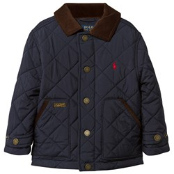 Ralph Lauren Diamond Quilted Jacket Aviator Navy