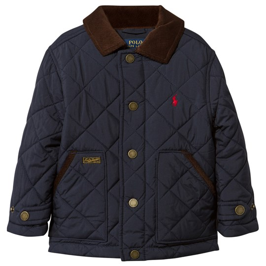 Ralph Lauren Diamond Quilted Jacket Aviator Navy Aviator Navy