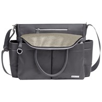 Skip Hop Chelsea Diaper Bag Charcoal Shimmer Grey