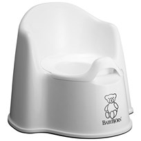 Babybjörn Potty Chair White Vit/Svart