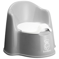 Babybjörn Potty Chair Grey Grå/Vit