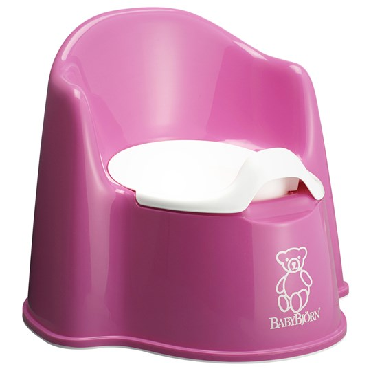 Babybjörn Potty Chair Pink Rosa/vit