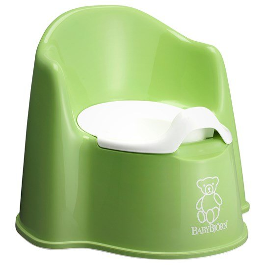 Babybjörn Potty Chair Green Grøn