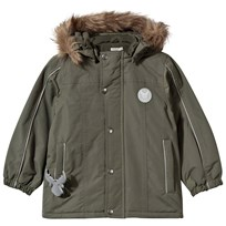 Wheat Valde Jacket Dark Army Green