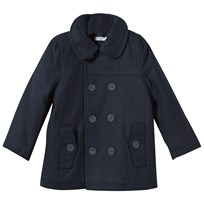 Wheat Wool Jacket Navy Laivastonsininen