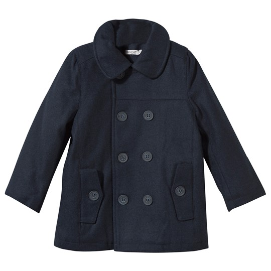 Wheat Wool Jacket Navy Navy