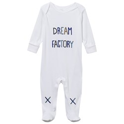 Livly Dream Factory Footed Baby Body White