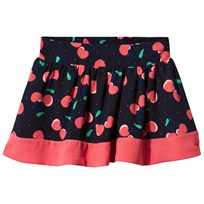 Little Marc Jacobs Cherry Skirt Marine Rouge Marine Rouge
