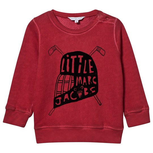 Little Marc Jacobs Hockey Sweater Deep Red Deep Red