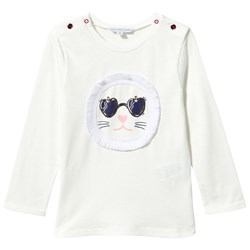 The Marc Jacobs T-Shirt Lion in Off-White