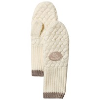 Lillelam Basic Mittens Off White off-white