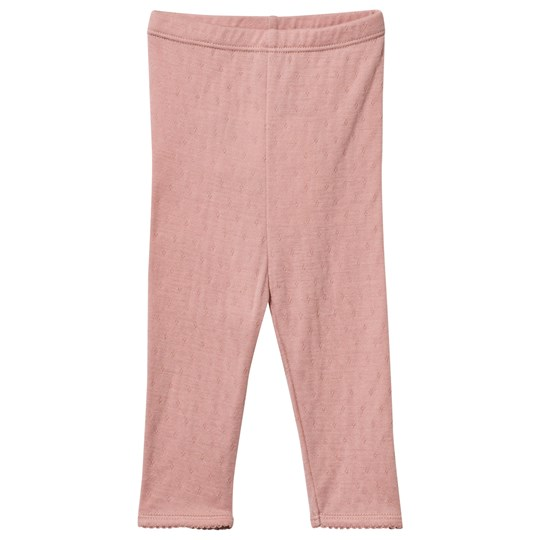 Noa Noa Miniature Doria Wool Baby Leggings Misty Rose Misty Rose
