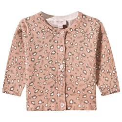 Noa Noa Miniature Baby Cotton Melange Pri Cardigan Misty Rose