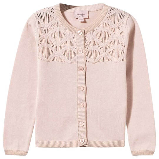 Noa Noa Miniature Baby Cotton Melange Cardigan Pearl Blush Pearl Blush