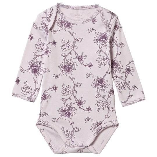 Noa Noa Miniature Baby Printed Body,Long Sleeve/No Legs Orchid Ice Orchid Ice