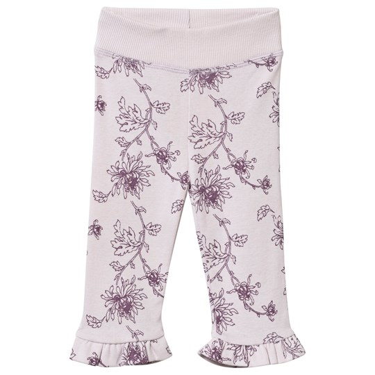Noa Noa Miniature Printed Baby Leggings Orchid Ice Orchid Ice