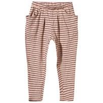 Noa Noa Miniature Mini Sailor Stripe Trousers Misty Rose Misty Rose