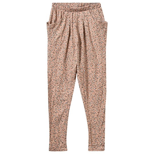 Noa Noa Miniature Mini Sailor Print Trousers Misty Rose Misty Rose