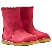 Bisgaard TEX Zip Boots Wool Red 904 Red