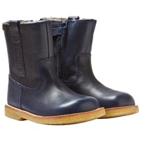 Bisgaard TEX Boot Wool Zip Blue 602 Blue