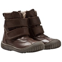 Bisgaard TEX Boots Wool Velcro Brown 301 Brown