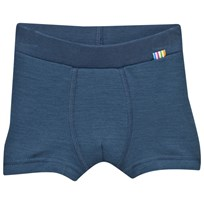 Joha Arctic Zone Boxer Shorts Solid Blue Arctic Zone Solid Blue