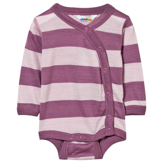 Joha Block Stripe Baby Body Pink Block Stripe Pink