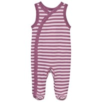 Joha Striped Footed Baby Body Pink Stripe Pink
