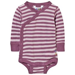 Joha Striped Baby Body Pink