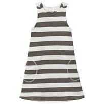 Joha Wool Pinafore Dress Stripes YD Stripe